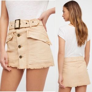 Free People | Hangin On Tight Mini Skirt - Size 12